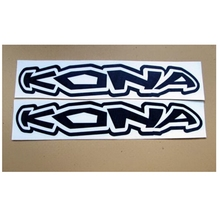 2 Kona Enduro MTB Bike Cycles Frame Stickers Decal Logo