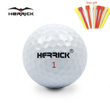 Golf ball white Durable Game ball 35PCS/lot two Layers PU High quality Far away better stability Free Shipping(China)