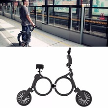Folding Vehicle Lightweight Mini 10 inch 2900mAh Two Wheeled Adult Lithium Battery Electric Scooter Bicycle Scooter Luggage 48V(China)