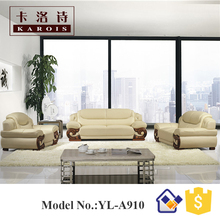 Wholesale genuine leather cheap 1s+2s+3s sectional sofa