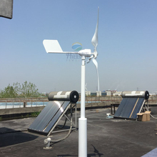 hot 600w MAX POWER 800W horizontal wind turbine generator 12v 24v AC/DC out put alternative energy generator(China)
