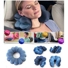 HOT Total Travel Pillow Twist Neck Back Head Cushion Comfort Relax Massage Best(China)