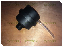 "G1/2"" Plastic air Muffler for oilfree air compressor, spare parts"