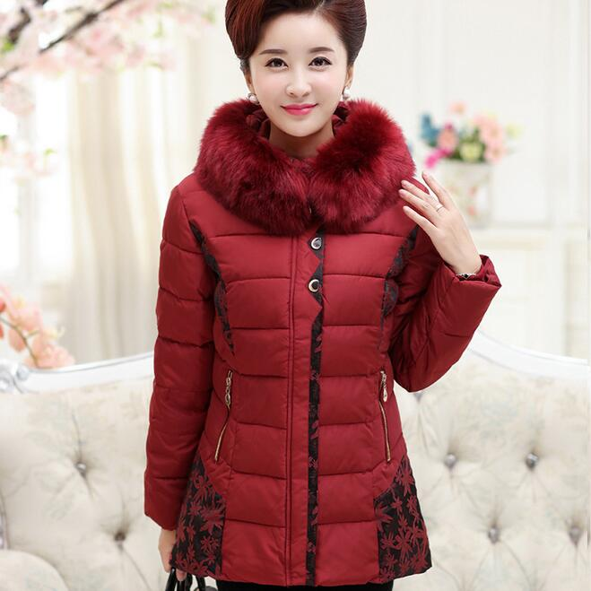 Winter Fashion New Womens Thick Jacket Long Fur Collar Coat Plus SizeОдежда и ак�е��уары<br><br><br>Aliexpress