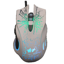 2016 Hot sale LED Optical Professional USB Wired Gaming Mouse Mice  6Buttons Computer Mouse breath light  Mouse Gamer Peripheral