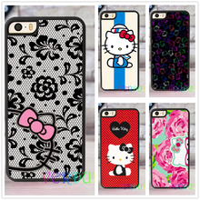 Hello Kitty fashion case for iphone 4 4s 5 5s SE 5c for 6 & 6 plus 6S & 6S plus 7 7 plus