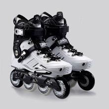 2015 Comfortable French Road Show RX5 Adult Inline Skating Shoes/Roller Patins/ Patins Adulto /Ice Hockey Skates Size EU35-44