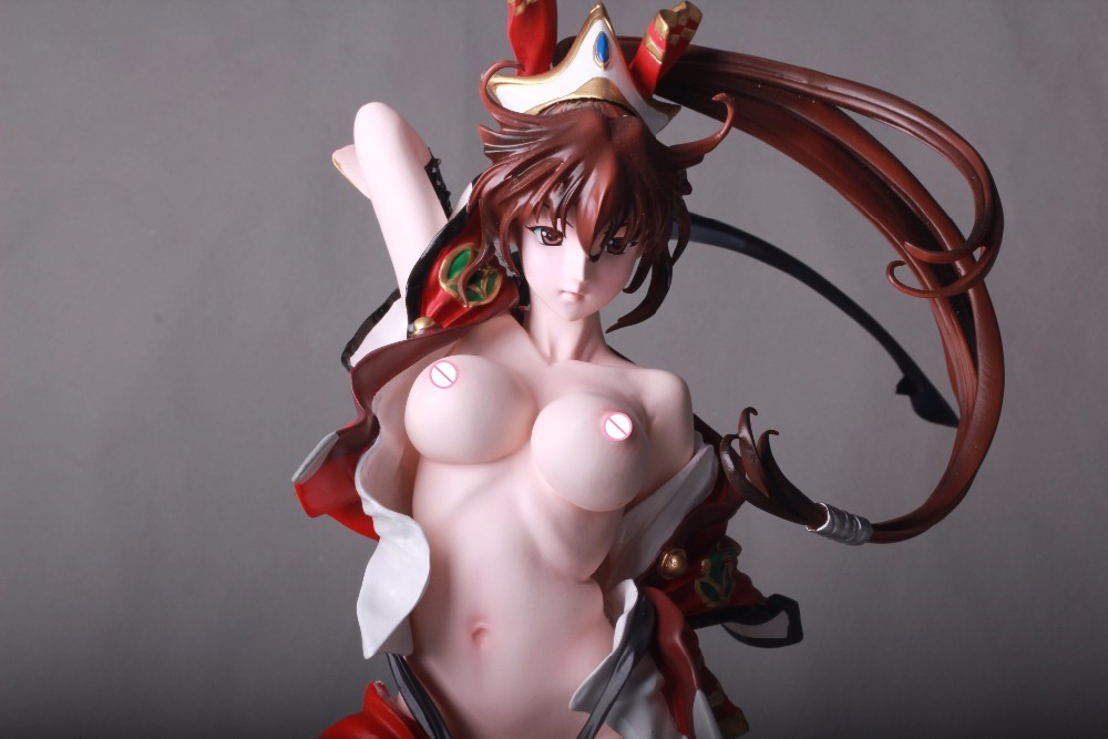 1:4 Sexy naked women dolls japanese anime action figures KOEI TECMO Sengoku rance anime girl figure resin model figures(China (Mainland))