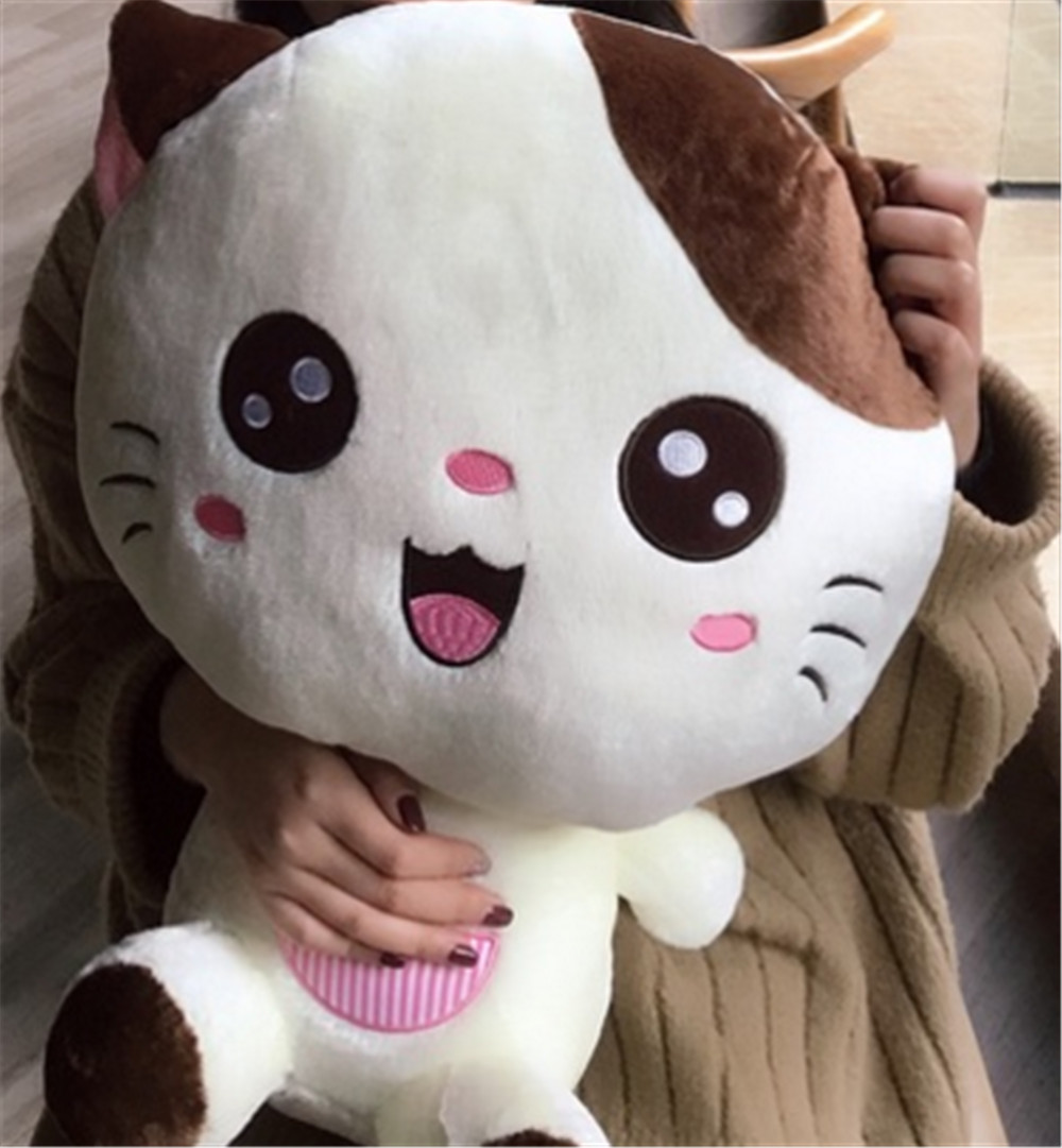 Fancytrader Lovely Cat Doll Plush Giant Soft Stuffed Cartoon Cat Toy Sitting Size 60cm Nice Valentine Gift 2