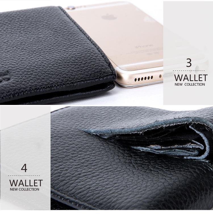 Väiksem must rahakott lehmanahast