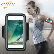 KISSCASE Workout Cover Sport Fitness Case For iPhone 6 6S 6 Plus Holder Waterproof Casual Running Riding Arm Band for 6S 6S Plus