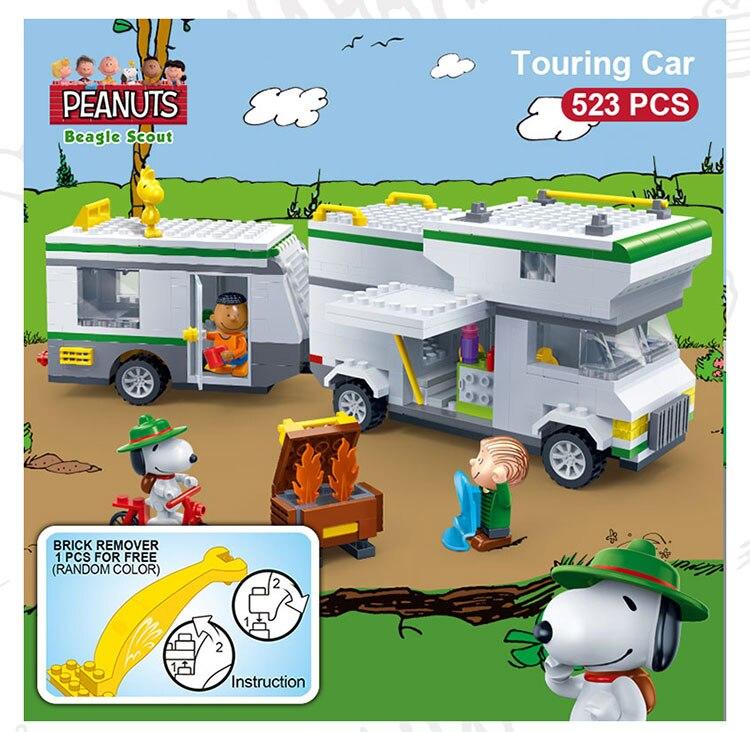BanBao 7513 Touring Car Plastic Building Bricks 19