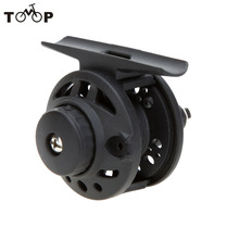 Plastic Fly Fishing Reel Former Rafting Ice Fishing Reel Vessel Wheel Fishing Gear Left/Right Interchangeable Fishing Tackle(China)