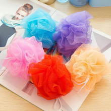Random Color Bubble Loofah Flower Bath Ball Lot Bath Flower Sponge Bath Rub High Quality Bath Toiletries