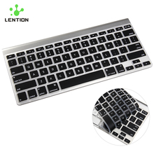 "For 13"" 15"" 17"" MacBook Pro Air Retina Silicone Keyboard Cover US EU Version Rainbow Keyboard Skin Laptop Sticker Protector(China)"