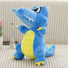 30/40cm green/blue/pink/red plush toys small Dinosaur doll cartoon doll big size cloth doll kids toys Children birthday gift