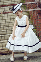 100% real luxury white ruffled childrens vintage medieval girl night ball gown fancy dress/party/beauty/dance/contest dress
