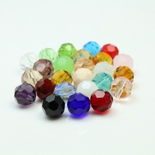 Crystal Beads 195pcs/lot  3MM 32 Facted Football Beads Jewelry Accessories Glass Disco Glass Crystal Ball Beads for Diy