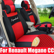 Cover car seat custom fit for renault megane automobiles seat covers for car seats protector sandwich car seat cover set airbags