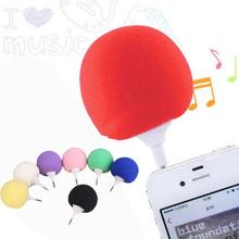 Mini 3.5mm Audio Plug Jack Music Sponge Ball Speaker hoparlor For Phone Tablet Laptop
