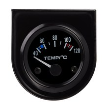 High sensitivity 2 Inch DC12V Car Pointer Water Temperature Temp Gauge 40 - 120 Celsius measure automobile(China)