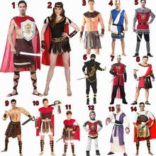 Brand Men Women Costumes Ancient Rome Nobility Cosplay Clothing Unisex Halloween Couple Costumes Warrior Ancient Greek Costume