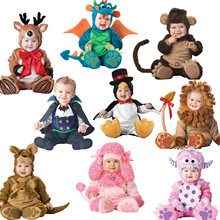Buy Androktones 2017 Children Christmas Vampire Dinosaur Onesie Kids Girls Boys Warm Soft Animal Cosplay Pajamas Halloween Costumes for $19.29 in AliExpress store