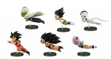 Anime Figure Dragon Ball Z The Historical Characters WCF DragonBall Action Figure Collection Model Toy 6pcs/set(China)
