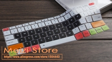Many Colors Silicone Keyboard Cover Skin  Protector for Xiaomi Air 13/13.3 Xiao Mi Notebook Air 13 13.3 inch i5-6200U