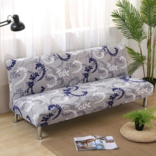 Elastic sofa cover full cover without armrest sofa cover popular printing folding sofa bedspread sofa cushion For 155 * 180cm(China)