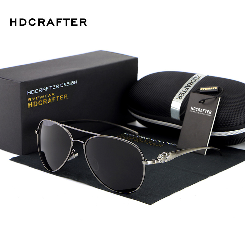 New 2017 HDCRAFTER Fishing Aviator Sports Driver Outdoor Vintage Man and Women Sunglasses Brand Designer E912<br><br>Aliexpress