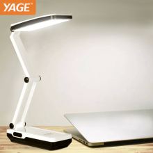 YAGE 5913C Desk Lamp Night Light LED Table Lamp reading books desk light usb Foldable 3-layer body 21 pcs SMD USA/EU/UK Plug(China)