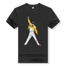 Summer New Cotton T Shirt Fashion 2017 Top Tees  Short Sleeve Gift Crew Neck Mens Freddie Mercury Classic Rage Pose Shirts