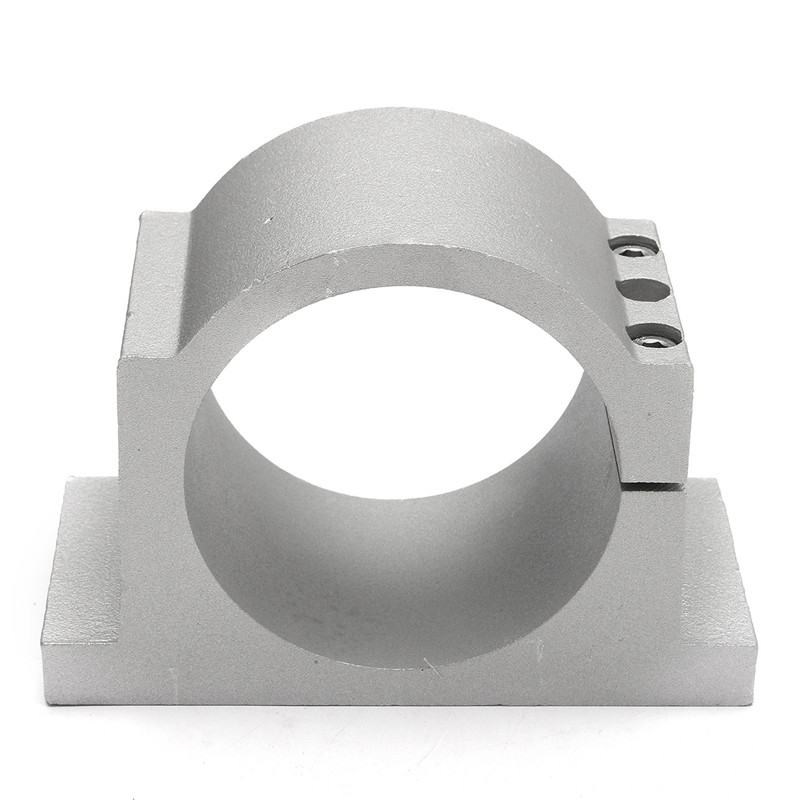 MTGATHER 100mm Diameter Spindle Motor Mount Clamp Bracket Holder w/2xScrew For CNC Router Cast AluminumInner<br>