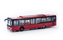 Red 1:43 Yutong ZK6128 City Bus High Simulation Alloy Toy Bus Models Passenger Station Wagon Diecast