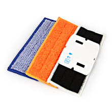robot cleaner brushes spare parts 1pcs Wet Pad Mop +1pcs Damp Pad Mop + 1pcs Dry Pad Mop for iRobot Braava Jet 240 241