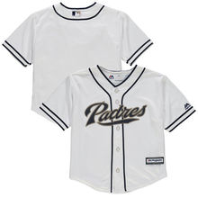 MLB Preschool San Diego Padres Baseball White Home Cool Base Team Jersey(China)