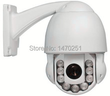 "IR 40m/131ft/44yds 1/3"" Sony CCD 480TVL/700TVL Outdoor IR Mini PTZ Speed Dome  w/ 10x Optical Zoom Module"