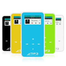 Selling high-quality Newest Mini MP3 player 1.0 inch screen support FM e-book Loud speaker function SD card slot Sports MP3