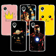 Hard Plastic Ample Cell Phone Case Cover For LG Nexus 5 4.95inch,High Quality Colored Painting Cover For LG Nexus 5 Cases