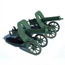 1pc Maxim Machine Gun Toy Green Toy Action Figure new CHBR35 railway modeling model building kit(China)