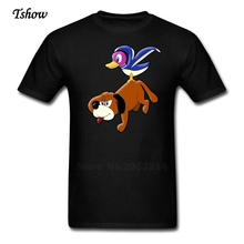Dog Men Tshirt Casual Summer Print Pure Cotton Male Costume Crew Neck Short Sleeve Funny Picture T-shirt Newest Tee Boys(China)