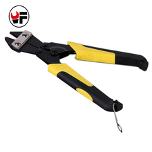 "8"" Manual Bolt Cutter Automatic Cable Wire Stripper Crimping Plier Flat Wire Cutter"