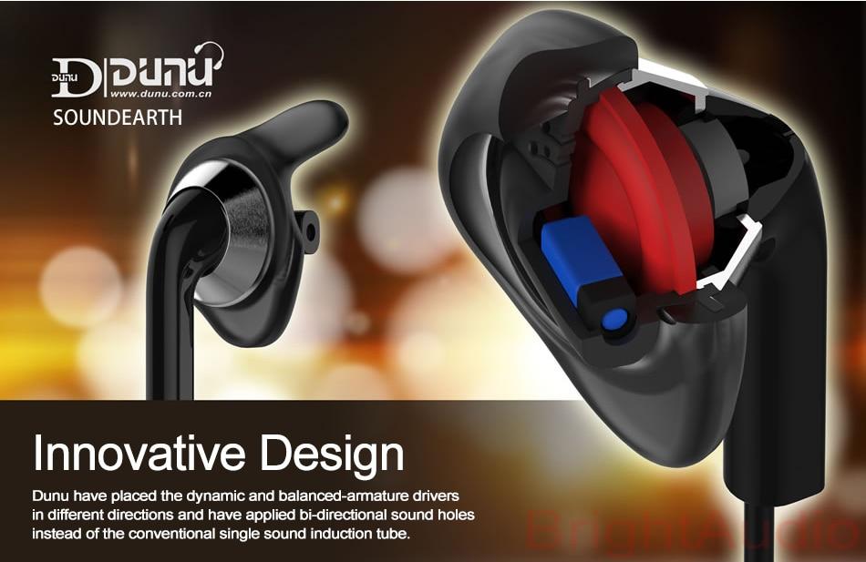 Dunu Alpha 1 Hifi In-Ear Earphones Hybrid Dual Drivers Earbud Earphones DUNU ALPHA 1 (A1)