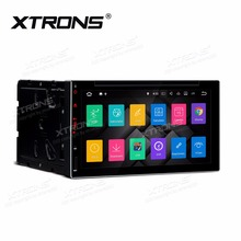 "XTRONS Universal 6.95"" HD Quad-Core 16GB ROM 2G RAM Android 7.1 Digital Multi-touch Screen HDMI Double Din Car DVD Player(China)"