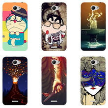 Case For HTC Desire 516 316 Dual Sim Cover Fashion HD UV Printing Cartoon Back Shell Hard Plastic Skin Phone Coque New Hot