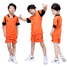2017 High Quality New arrival kids football jerseys soccer sets suits training pant sports wears clothes Customized number name