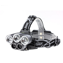 5 CREE LED Headlamp Outdoor Head Lamp Camping Emergency Light Fishing Hiking Equipment(China)