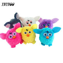 YNYNOO New Electronic Toys phoebe 7 Color Electric Pets Owl Elves Plush toys Recording Talking Toys Christmas Best Gifts