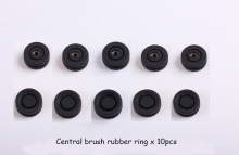 (For A320,A325,A335,A336,A337,A338) Robot Vacuum Cleaner Central brush rubber ring, 10pcs/ pack, Home Machine Replacement Parts